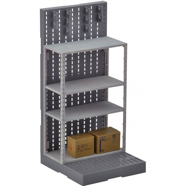 Little Armory 1/12 Scale Model Kit: LD018 Gun Rack D