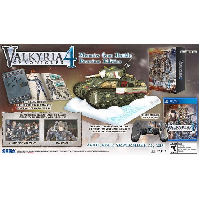 Valkyria Chronicles 4 [Memoirs from Battle Premium Edition]