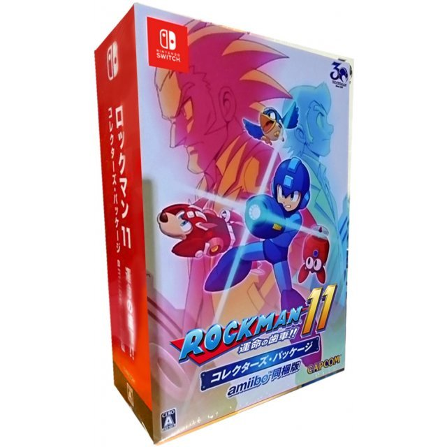 RockMan 11 Collector's Package (with amiibo Rockman 11) [Limited Edition]