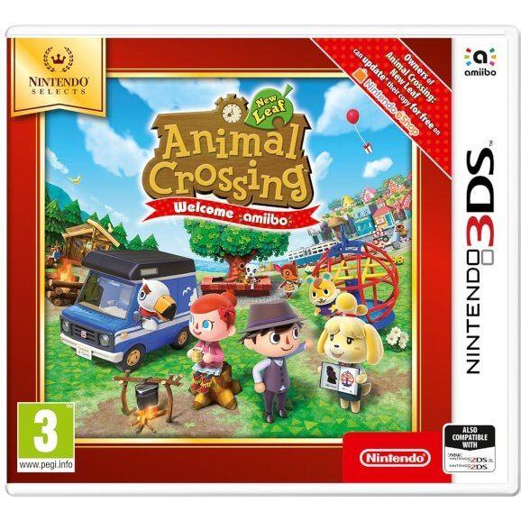 Animal Crossing: New Leaf - Welcome Amiibo (Nintendo Selects)