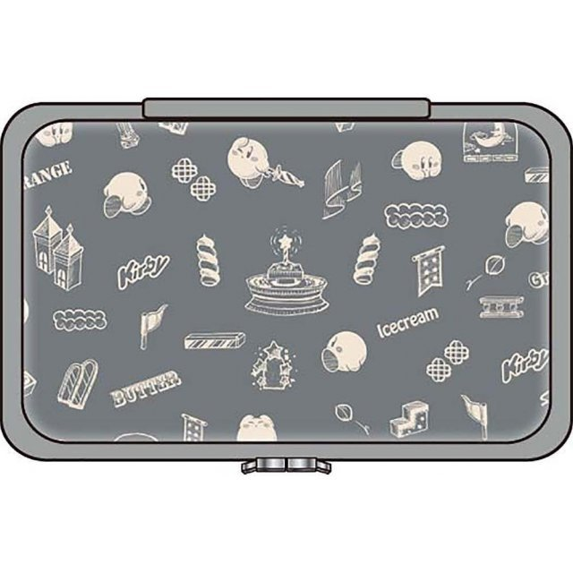 Kirby Star Special Compact Pouch for Nintendo Switch (Gray)