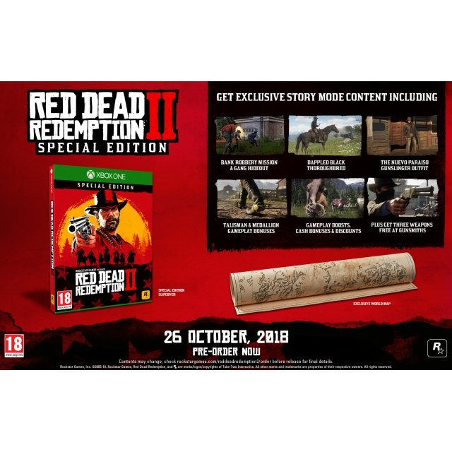 red dead redemption 2 special edition pre order