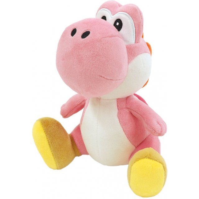Super Mario All Star Collection Plush: AC46 Pink Yoshi (Small) (Re-run)