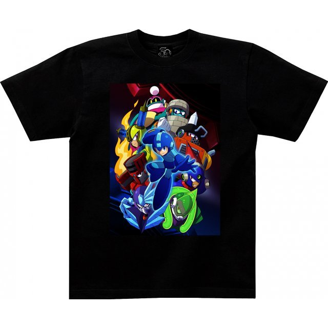 Mega Man 11 Visual T-shirt (XL Size)