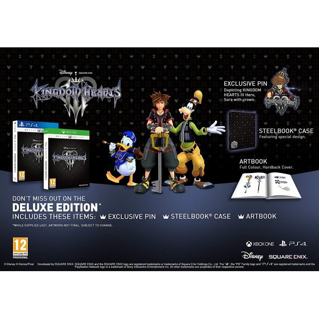 Kingdom Hearts III [Deluxe Edition]