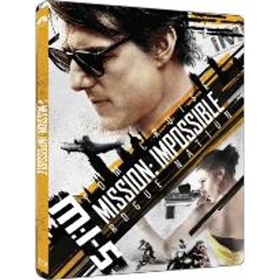 Mission Impossible 5: Rogue Nation (4K UHD) (Steelbook)