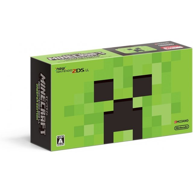 Minecraft New Nintendo 2DS LL Creeper Edition