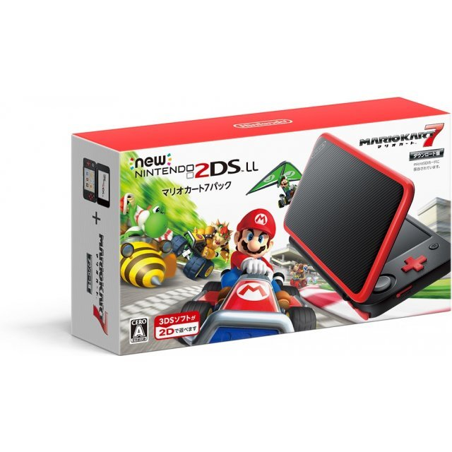New Nintendo 2DS LL Mario Kart 7 Pack
