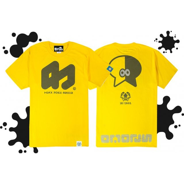Splatoon 2 - Wakaba Octopus T-shirt Yellow (L Size)