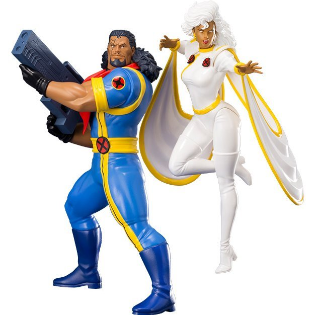 ARTFX+ X-Men 1/10 Scale Pre-Painted Figure: Bishop & Storm 2 Pack