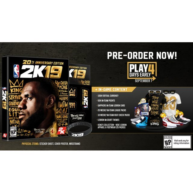 NBA 2K19 [20th Anniversary Edition]