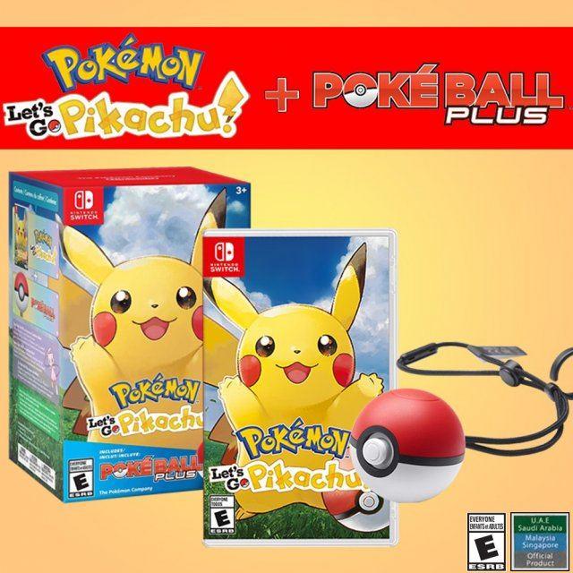 Pokemon: Let's Go, Pikachu! + Poke Ball Plus Pack