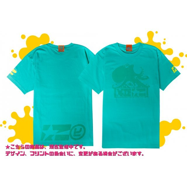 Splatoon 2 - Enter The Octobot King T-shirt Mint Green (XS Size)