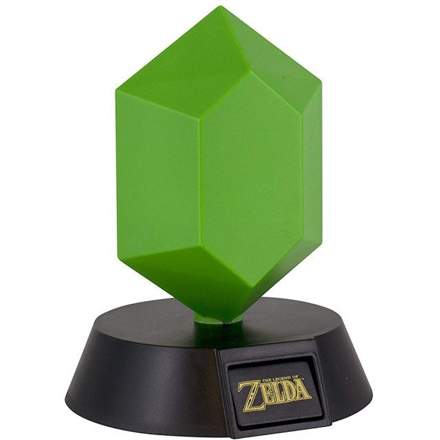 The Legend Of Zelda - Green Rupee 3D Light
