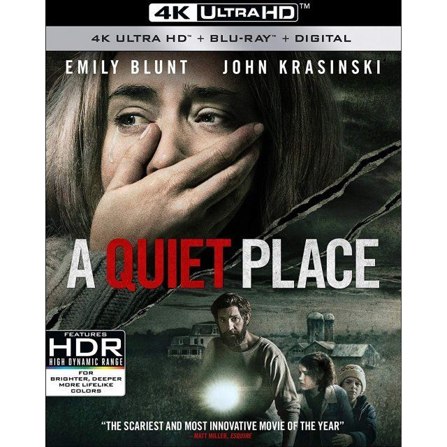 A Quiet Place [4K Ultra HD Blu-ray]