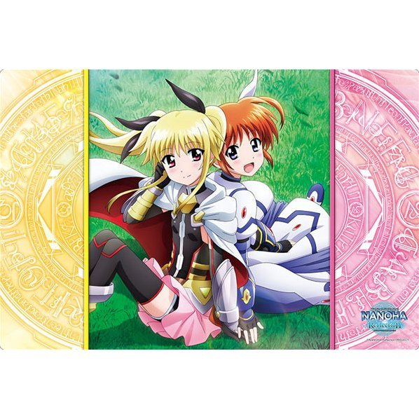 Bushiroad Rubber Mat Collection Vol. 172 Magical Girl Lyrical Nanoha Reflection: Nanoha & Fate