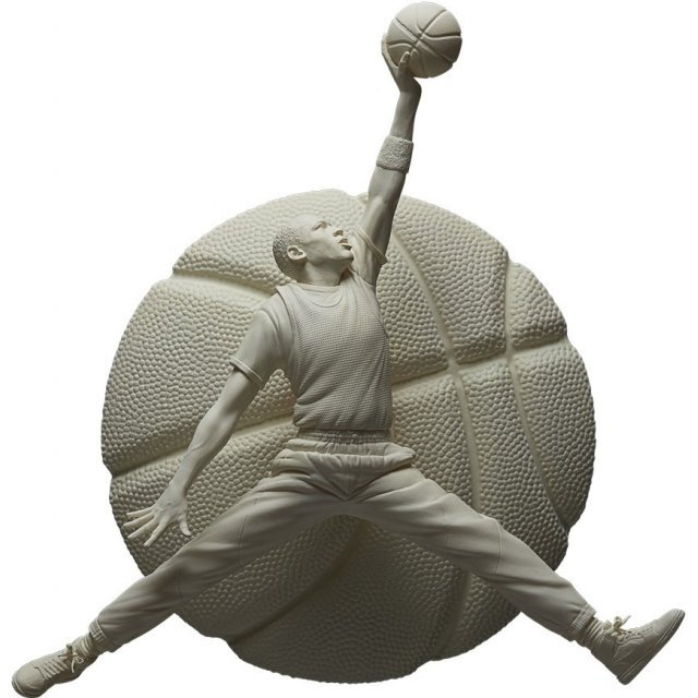 Enterbay 1/6 Scale Sculpture Collection: Michael Jordan Gypsum Edition