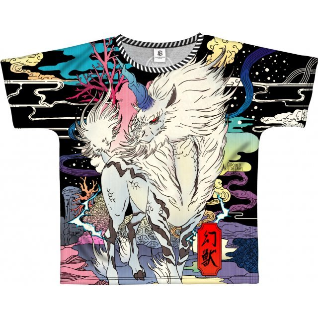 Monster Hunter: World Full Graphic T-shirt - B-Side Label Kirin (XL Size)