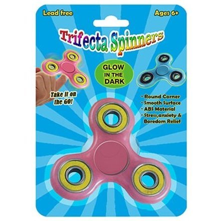 Trifecta Spinner Glow in the Dark