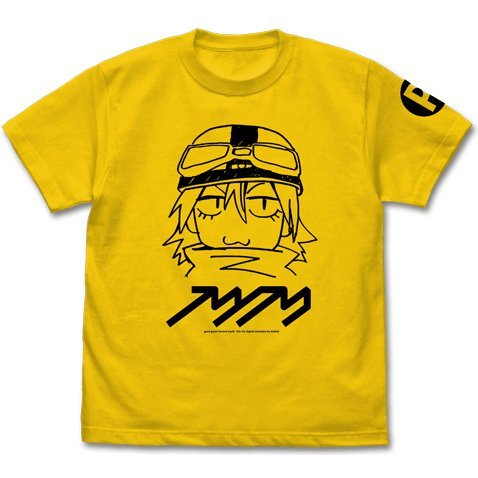 Fooly Cooly - FLCL Haruko T-shirt Canary Yellow (M Size)