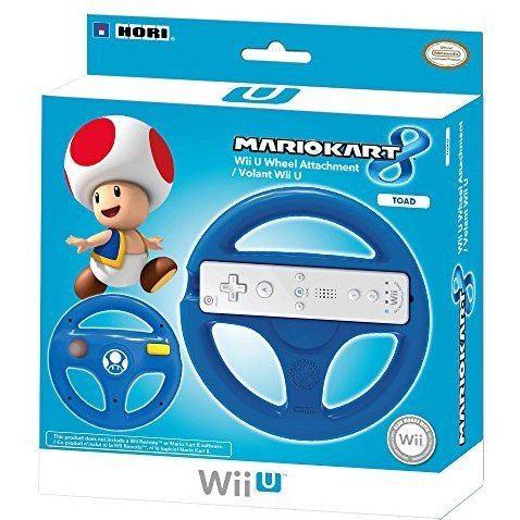Hori Mario Kart 8 Racing Wheel for Wii U (Toad)