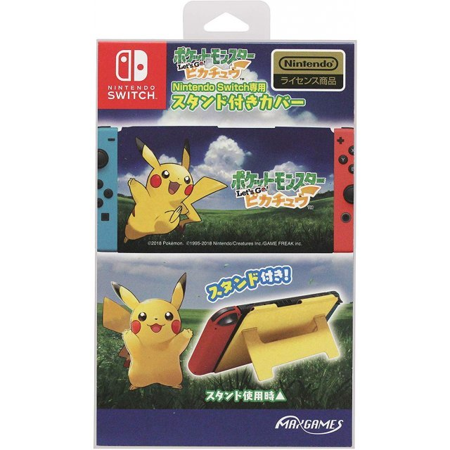 Pocket Monsters Let's Go! Pikachu Stand Cover for Nintendo Switch