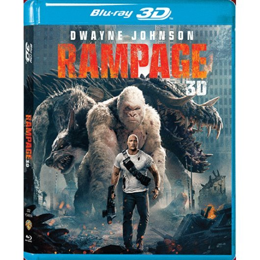 Rampage 3D (2-Disc)