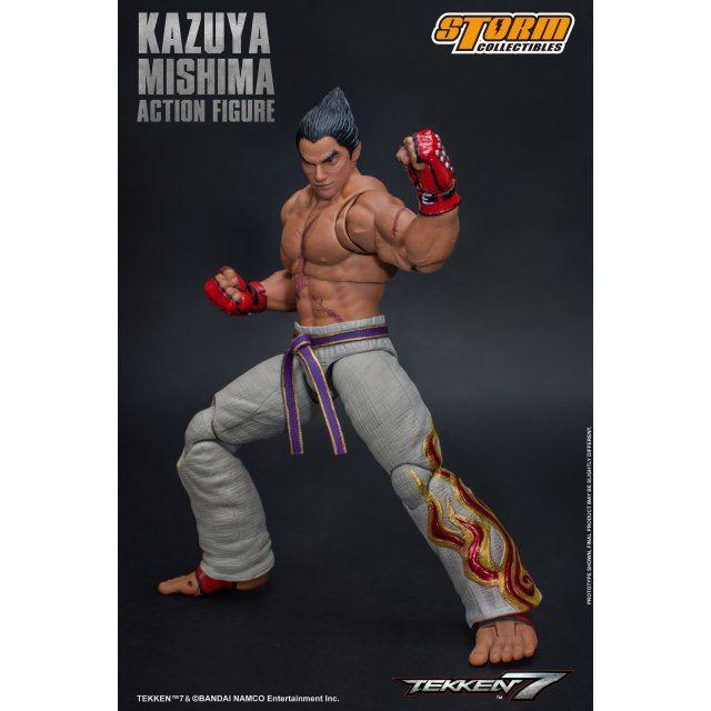 Tekken 7 Pre Painted Action Figure Kazuya Mishima