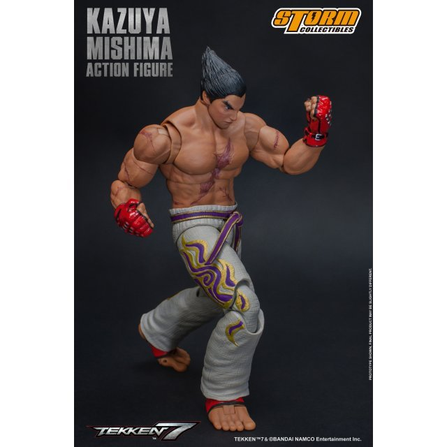 Action Painted FigureKazuya Pre 7 Tekken Mishima POn0wk