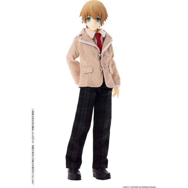Picco Danshi Arayashiki 1/12 Scale Fashion Doll: Riku Utou Yellow Ver.