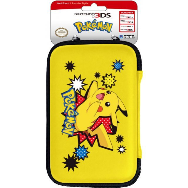 Pikachu Hard Pouch for New Nintendo 3DS XL