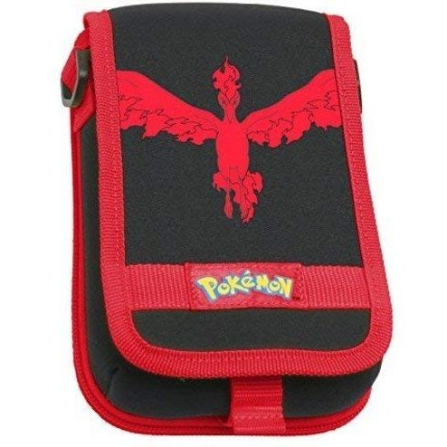Pokemon Moltres Travel Pouch for Nintendo 3DS XL (Red)