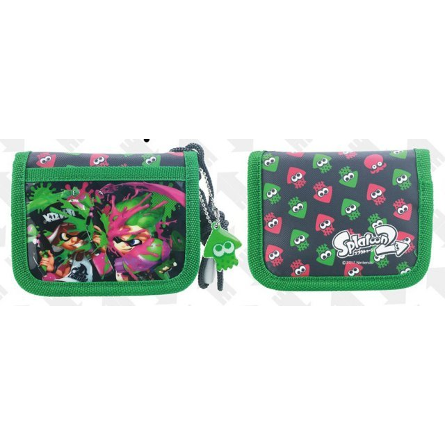Splatoon 2 RF Wallet Green - SPT-553