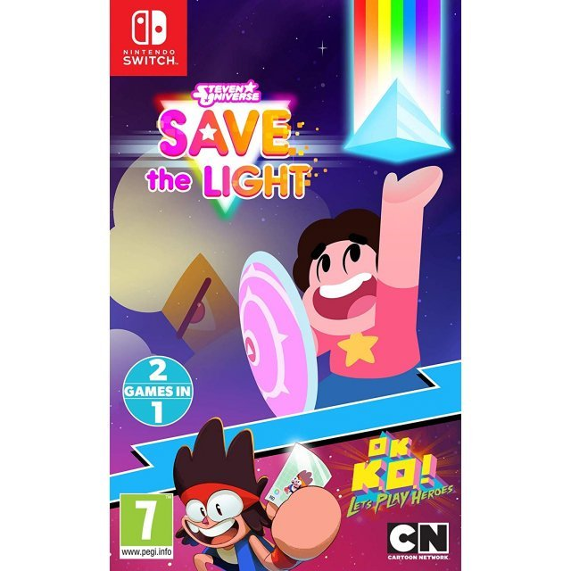 Steven Universe: Save the Light / OK K.O.! Let's Play Heroes 2 Games in 1