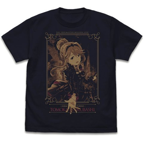 The Idolm@ster Million Live! - Tomoka Tenkubashi T-shirt Dark Navy (M Size)