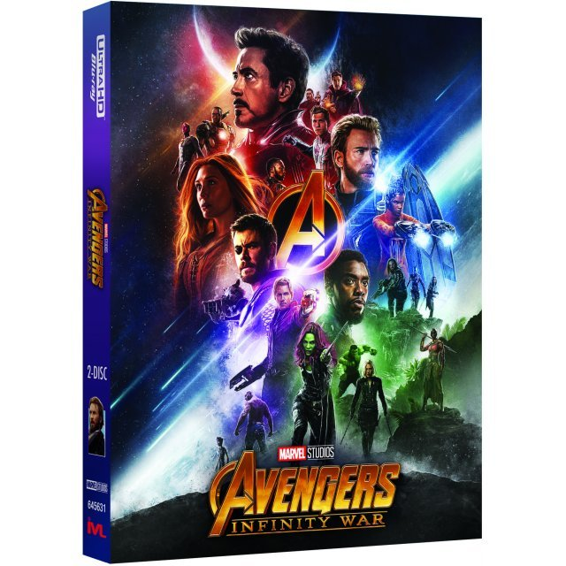 Avengers: Infinity War (4K UHD+Blu-ray 2D) (2-Disc) (Lenticular Slip) [Limited Edition]