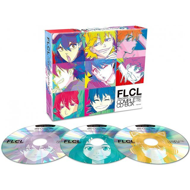 FLCL ALTERNATIVE/PROGRESSIVE COMPLETE CD-BOX