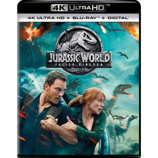 Jurassic World: Fallen Kingdom [4K Ultra HD Blu-ray]