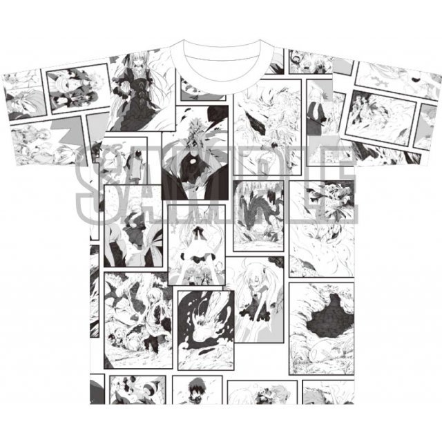 That Time I Got Reincarnated As A Slime Full Graphic T-shirt (Free Size)