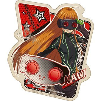 Persona 5 The Animation Travel Sticker 7 - Navi