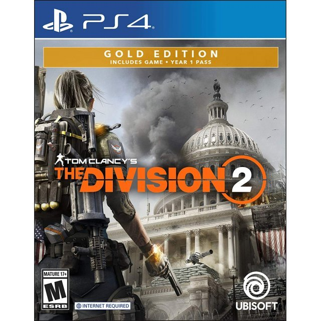 Tom Clancy's The Division 2 [Gold Steelbook Edition]