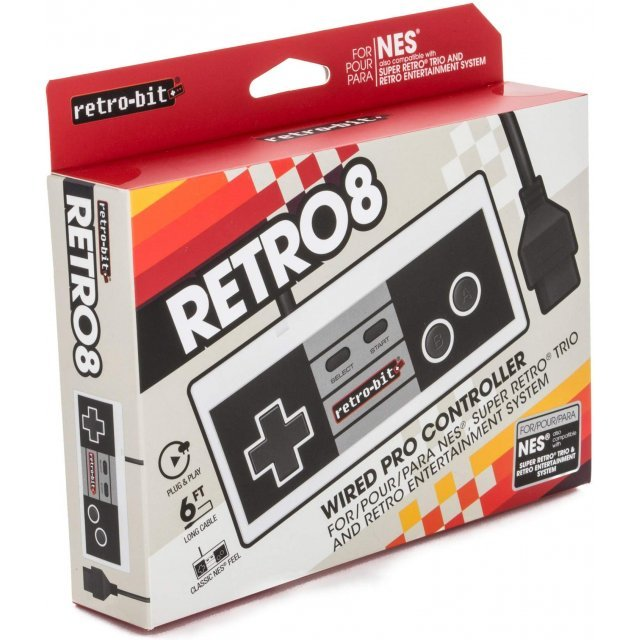 Wired Pro Controller for NES