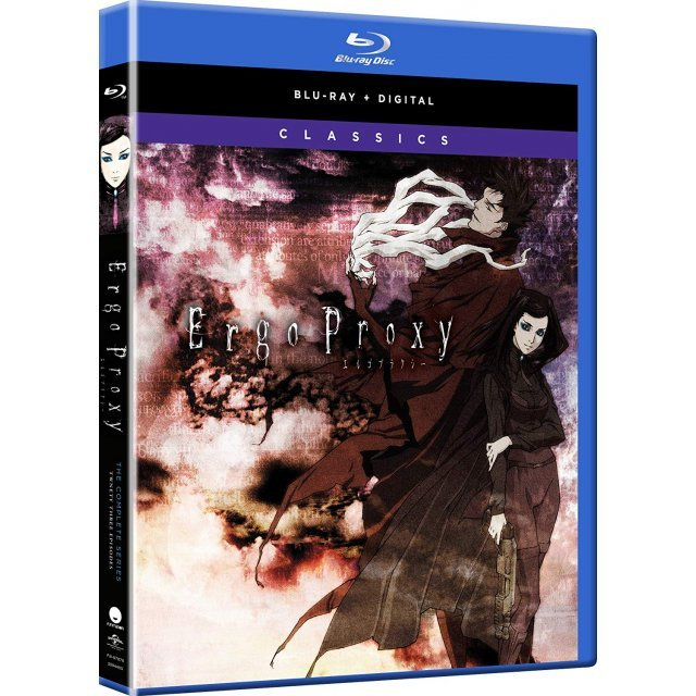 Ergo Proxy: The Complete Series - Classics [Blu-ray+Digital HD]
