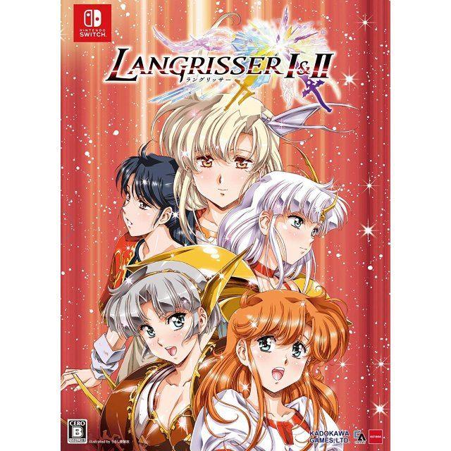 Langrisser I & II (Limited Edition Box)