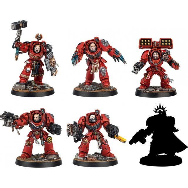 Warhammer 40,000: Space Marine Heroes Series No.2 (Set of 6 pieces)
