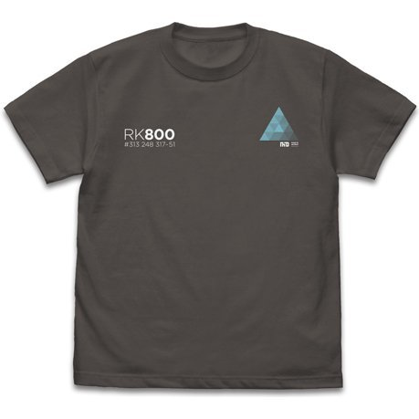Detroit: Become Human - RK800 T-shirt Charcoal (XL Size)