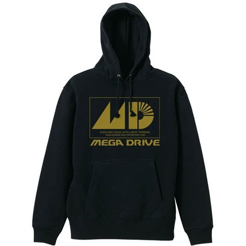 Mega Drive Pullover Hoodie Black (L Size)