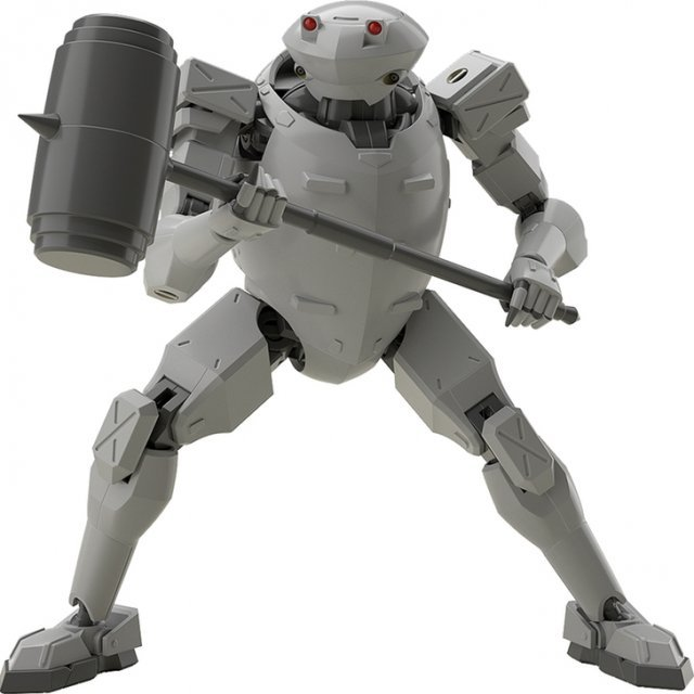 MODEROID Full Metal Panic! Invisible Victory 1/60 Scale Model Kit: Rk-92 Savage (Gray)
