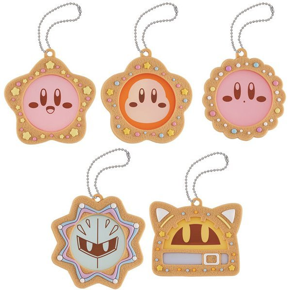 Charm Patisserie Kirby's Dream Land: Kirby's Cookie Time (Set of 6 pieces) (Re-run)