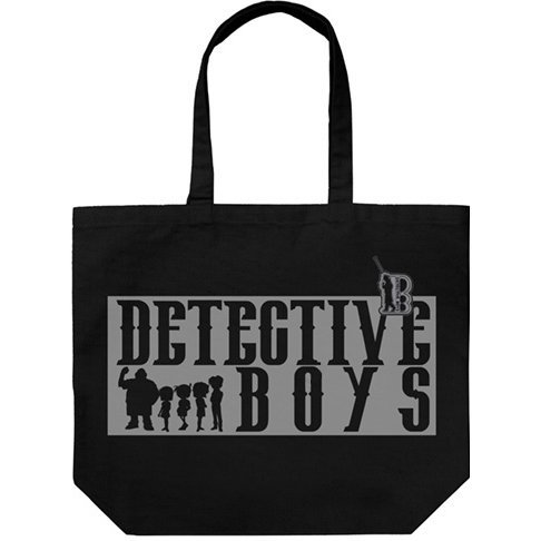 Detective Conan - Detective Boys Large Tote Bag Black